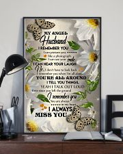 MY ANGEL HUSBAND - BUTTERFLY - I LOVE YOU 16x24 Poster lifestyle-poster-2