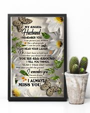 MY ANGEL HUSBAND - BUTTERFLY - I LOVE YOU 16x24 Poster lifestyle-poster-8