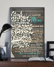 CHILDREN TO MOM 16x24 Poster lifestyle-poster-2