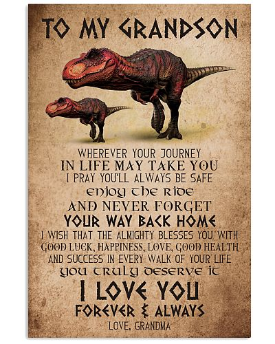 TO GRANDSON - T REX - I LOVE YOU