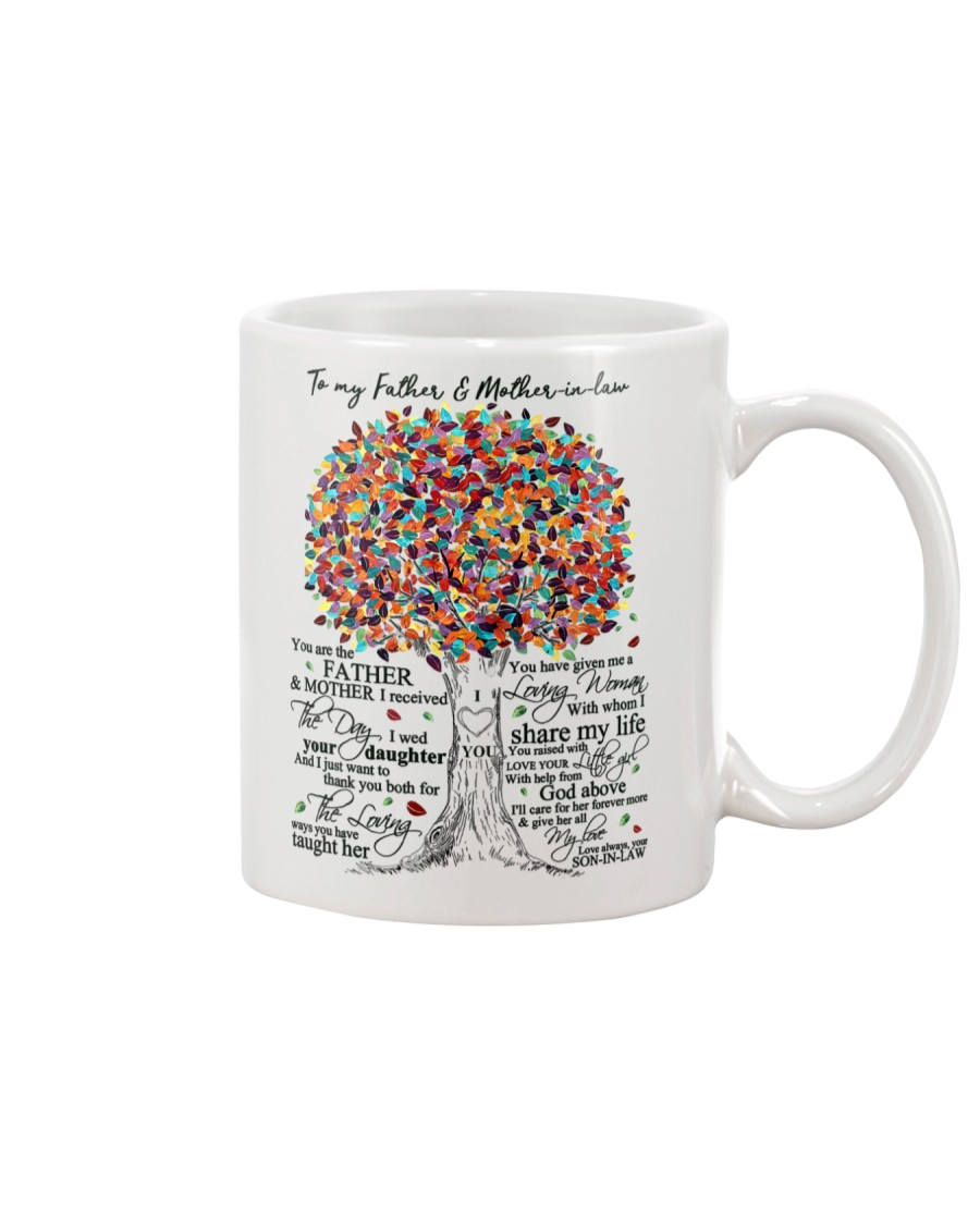 TO MY FATHER AND MOTHER-IN-LAW Mug