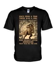 Once Upon A Time - Black T-shirt V-Neck T-Shirt thumbnail