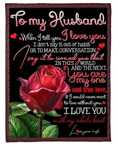 TO MY HUSBAND - ROSE - I LOVE YOU