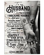 To My Husband - Hand In Hand - Once Upon A Time 16x24 Poster front