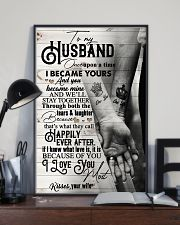 To My Husband - Hand In Hand - Once Upon A Time 16x24 Poster lifestyle-poster-2