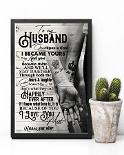 To My Husband - Hand In Hand - Once Upon A Time 16x24 Poster lifestyle-poster-8