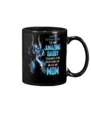 T-SHIRT - TO MY BONUS DAD - DRAGON Mug thumbnail