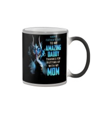 T-SHIRT - TO MY BONUS DAD - DRAGON Color Changing Mug thumbnail