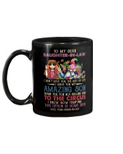 TO MY DAUGHTER-IN-LAW - HIPPIE - CIRCUS Mug back