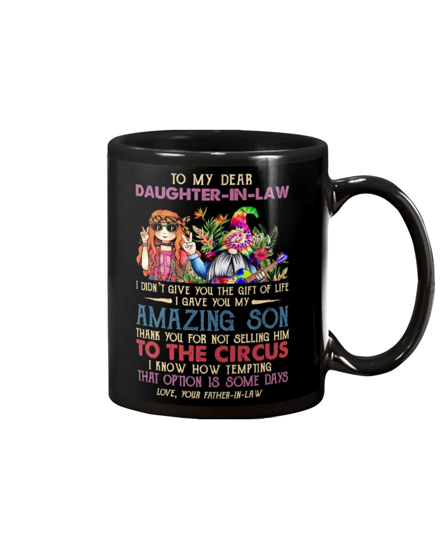 TO MY DAUGHTER-IN-LAW - HIPPIE - CIRCUS Mug