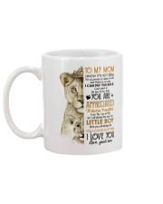 TO MY MOM - LION - YOU ARE APPRECIATED Mug back