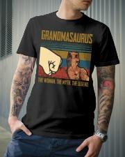 SAURUS - THE WOMAN - THE LEGEND Classic T-Shirt lifestyle-mens-crewneck-front-6