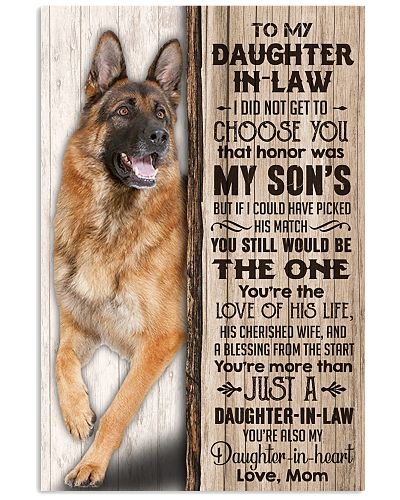 DAUGHTER-IN-LAW - GERMAN SHEPHERD - THE ONE