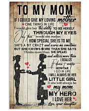 TO MY MOM - VINTAGE - YOU ARE APPRECIATED 16x24 Poster front