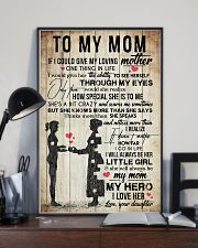 TO MY MOM - VINTAGE - YOU ARE APPRECIATED 16x24 Poster lifestyle-poster-2