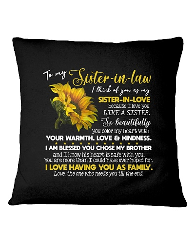TO MY SISTER IN LAW