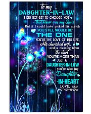 To My Daughter-in-law - Galaxy Butterfly 16x24 Poster front