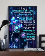 To My Daughter-in-law - Galaxy Butterfly 16x24 Poster lifestyle-poster-2