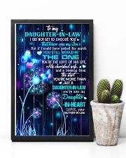 To My Daughter-in-law - Galaxy Butterfly 16x24 Poster lifestyle-poster-8
