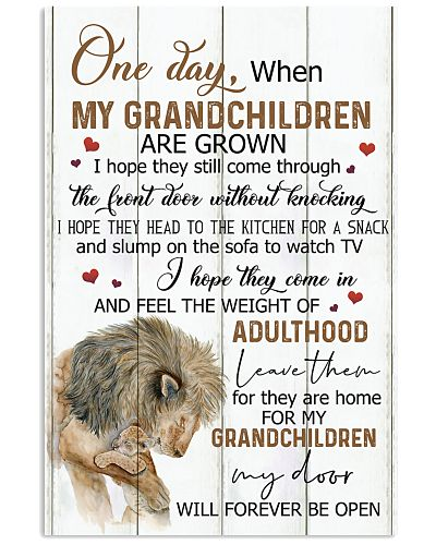 FOR MY GRANDCHILDREN - I HOPE THEY COME IN