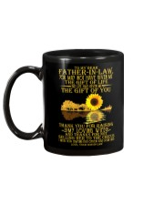 TO MY FATHER IN LAW Mug back