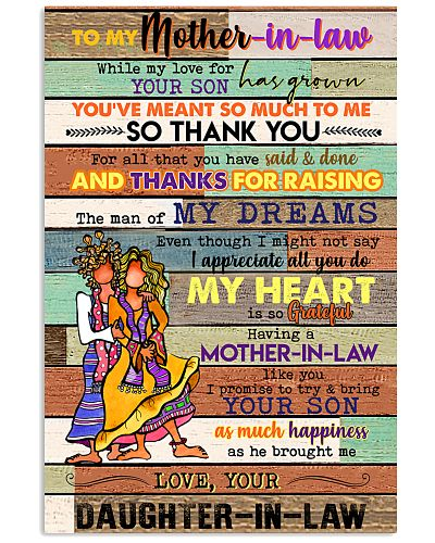 TO MY MOTHET-IN-LAW - HIPPIE - THANK YOU