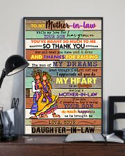 TO MY MOTHET-IN-LAW - HIPPIE - THANK YOU 16x24 Poster lifestyle-poster-2