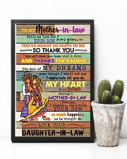 TO MY MOTHET-IN-LAW - HIPPIE - THANK YOU 16x24 Poster lifestyle-poster-8