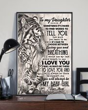 TO MY DAUGHTER - TIGER MOM - SOMETIMES 16x24 Poster lifestyle-poster-2