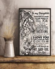 TO MY DAUGHTER - TIGER MOM - SOMETIMES 16x24 Poster lifestyle-poster-3