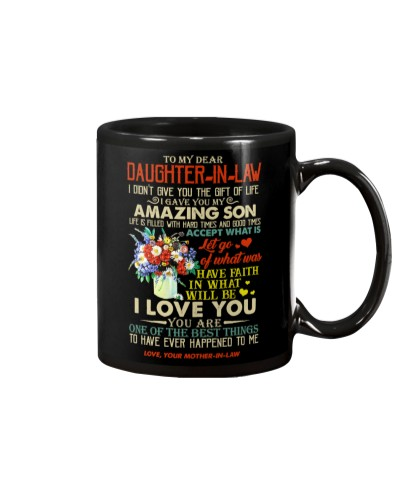 TO MY DAUGHTER-IN-LAW - POPPY FLOWER - GIFT