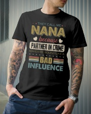 THEY CALL ME NANA - VINTAGE - BAD INFLUENCE Classic T-Shirt lifestyle-mens-crewneck-front-6