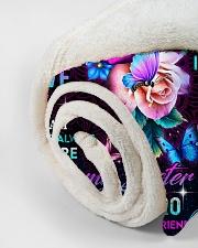 "To My Sister - Fleece Blanket Small Fleece Blanket - 30"" x 40"" aos-coral-fleece-blanket-30x40-lifestyle-front-18"