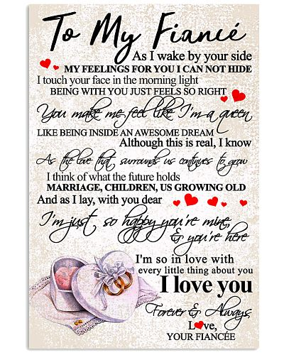 TO MY FIANCE'
