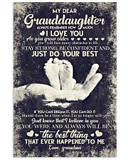 To Granddaughter - If You Can Dream It You Can  16x24 Poster front