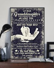 To Granddaughter - If You Can Dream It You Can  16x24 Poster lifestyle-poster-2