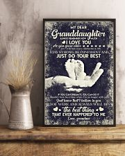 To Granddaughter - If You Can Dream It You Can  16x24 Poster lifestyle-poster-3