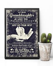 To Granddaughter - If You Can Dream It You Can  16x24 Poster lifestyle-poster-8