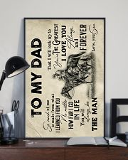 To My Dad - Horse Riding - Poster 16x24 Poster lifestyle-poster-2