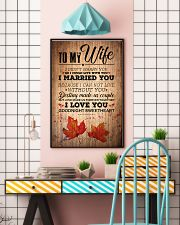 TO MY WIFE 16x24 Poster lifestyle-poster-6