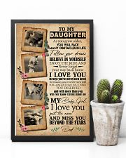 TO DAUGHTER - HANDS - BEYOND STARS 16x24 Poster lifestyle-poster-8