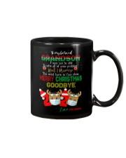 To Grandson - You Won't Have To Face Alone - Mug Mug front