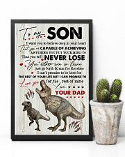 Saurus - Dad To Son - I Want You To Believe 16x24 Poster lifestyle-poster-8