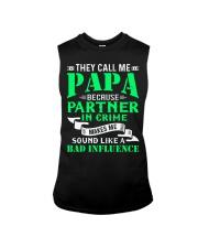 PAPA - BECAUSE - BAD INFLUENCE Sleeveless Tee thumbnail