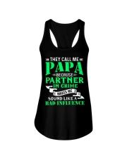 PAPA - BECAUSE - BAD INFLUENCE Ladies Flowy Tank thumbnail