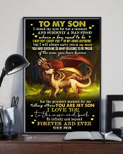 MOM TO SON - DRAGON - FOREVER 16x24 Poster lifestyle-poster-2