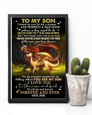 MOM TO SON - DRAGON - FOREVER 16x24 Poster lifestyle-poster-8