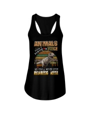 Dinosaurs - Animals Don't Have A Voice - T-Shirt Ladies Flowy Tank thumbnail
