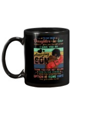 To My Daughter-in-law - Black Woman - Circus  Mug back