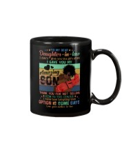 To My Daughter-in-law - Black Woman - Circus  Mug front